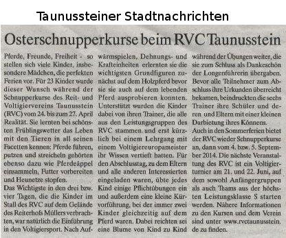 stadtnachrichten_osterschnupperkurs