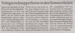 2015_Stadtnachrichten_Ank_Sommerschnupperkurs